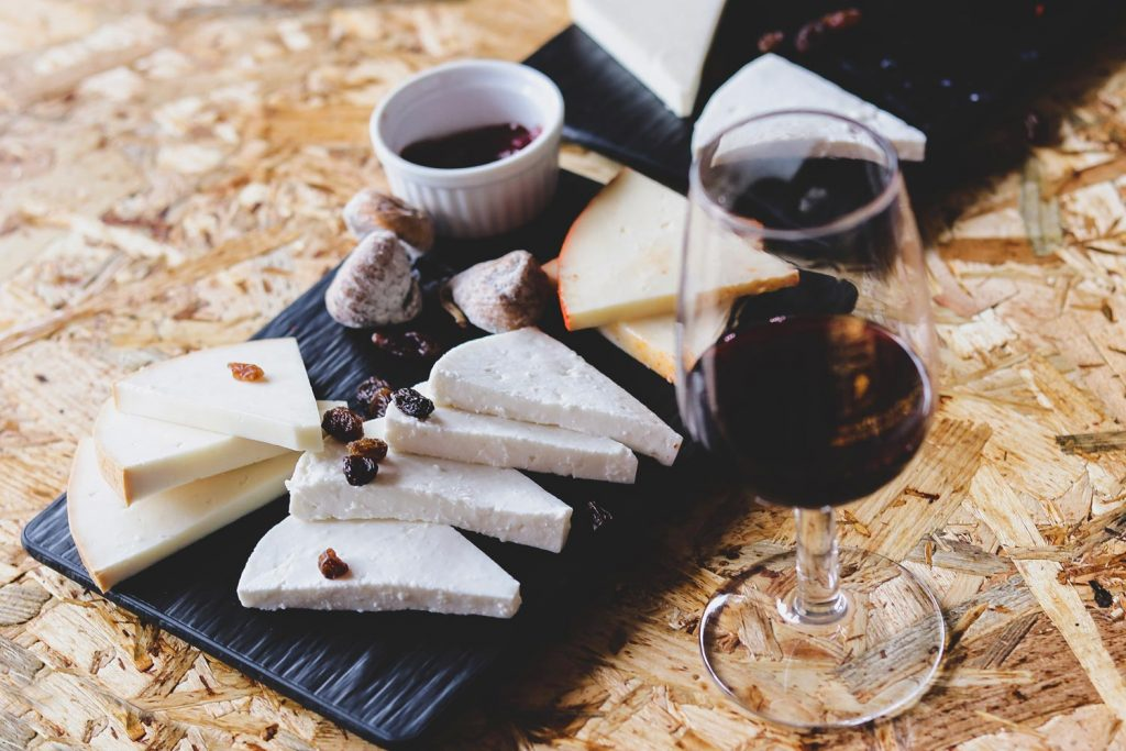 Cheeseboard from the finca