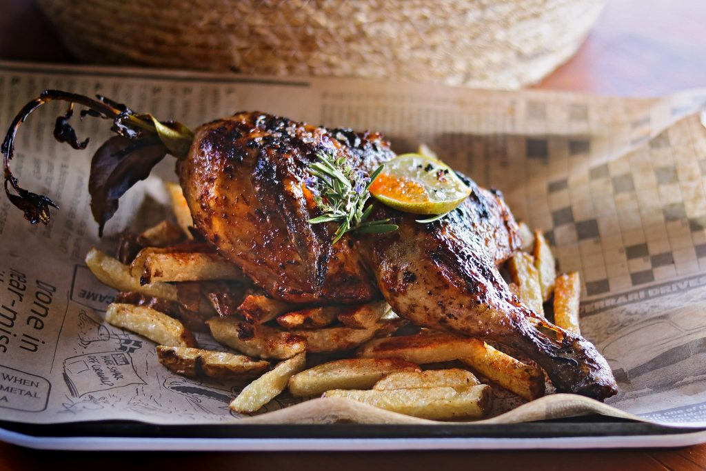 Mojo Chicken Finca Tres Roques